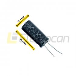 Capacitor 220uf 100v 12,5x25