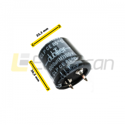 Capacitor 1000UF 100V 22X30 SNAP IN