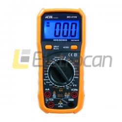 Multimetro digital MD-6108