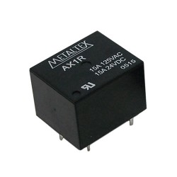RELÉ MINI DE POT, 1 CONT REVER - AX1RC4 48V - 15A