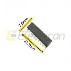 Circuito integrado ULN 2803 DIP
