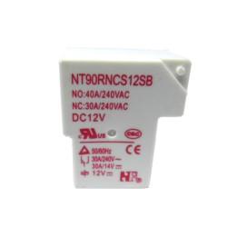 NT90RNCSDC12VSB0.9-RELÉ MINIATURA DE POTÊNCIA, 1 CONTATO REVERSÍVEL, TENSÃO DE BOBINA 12 VCC, CAPACIDADE DE 40