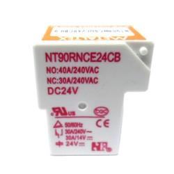 NT90RNCSDC24VCB0.9-RELÉ MINIATURA DE POTÊNCIA, 1 CONTATO REVERSÍVEL, TENSÃO DE BOBINA 24 VCC, CAPACIDADE DE 40