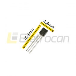 Circuito Integrado LM317LZ  /  TRANSISTOR