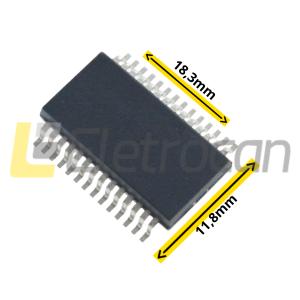 Circuito Integrado - HY62256B LLJ-70 SMD
