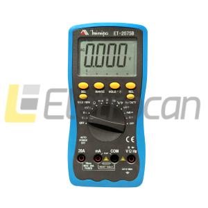 Multímetro digital MINIPA ET-2075B 3 3/