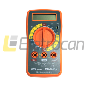 Multimetro Digital MD-1000A Icel