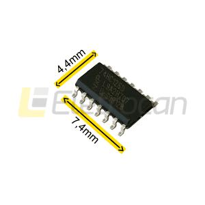 Circuito Integrado MM74HC126M