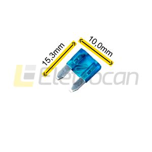 Fusível lâmina Pequeno 15A
