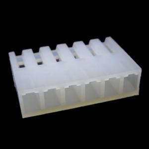 PCF3-06-CONECTOR FÊMEA PARA CABO, 6 VIAS, PASSO 3,96MM (USAR O TEMINAL FÊMEA - PCT3)