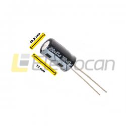 Capacitor Eletrolítico 47UF 100V