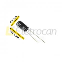 capacitor 47uf 50v