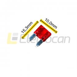 Fusível lâmina Pequeno 10A