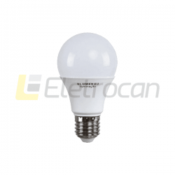 LÂMPADA LED 12W 6500K A60 E27 - 100-240V 1050 Lm (03124016)