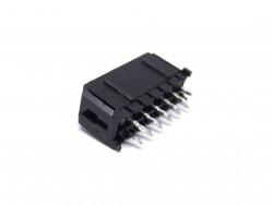 MCFPQ-12-CONECTOR MACHO 12VIAS (2X6) 180 GRAUS 3MM