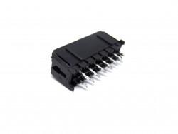 MCFPQ-14-CONECTOR MACHO PARA PCI, 14 VIAS (2X7), 180 GRAUS, PASSO 3,0MM, COM TRAVA E SEM PEG S