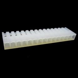PCF3-15-CONECTOR FÊMEA PARA CABO, 15 VIAS, PASSO 3,96mm (USAR O TEMINAL FÊMEA - PCT3)