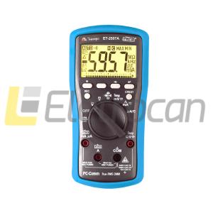 Multímetro digital MINIPA ET-2507A 3 5/6