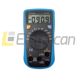 Multimetro digital ET 1507