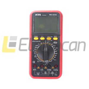 Multimetro digital MD-6300 ICEL