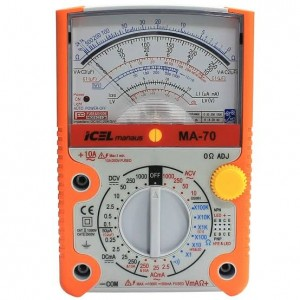 Multimetro Analógico MA-70A Icel