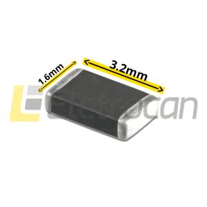 Resistor SMD 100K 1/4 1206