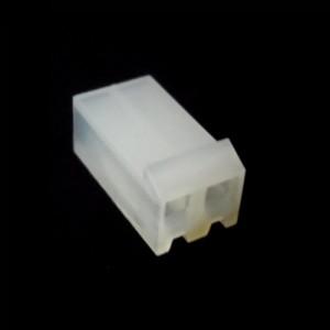 PCF3-02-CONECTOR FÊMEA PARA CABO, 2 VIAS, PASSO 3,96MM (USAR O TEMINAL FÊMEA - PCT3)