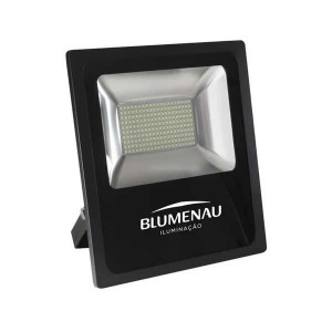 REFLETOR LED SLIM ALUM. 200W BI VOLT 6.000K (74200600) ILUMINAÇÃO BLUMENAU